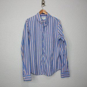 Vintage Abercrombie & Fitch Muscle Button sz L